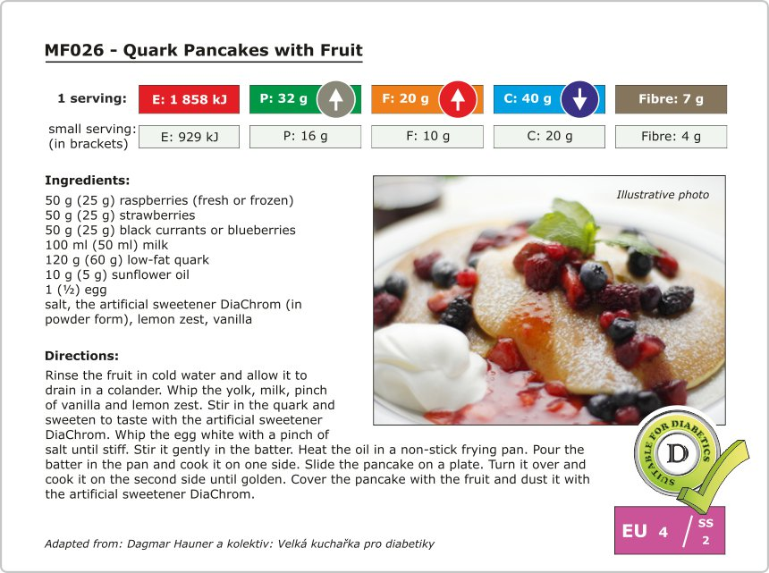MF026 - Quark Pancakes with Fruit