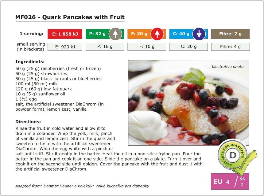 MF026 - Quark Pancakes with Fruit